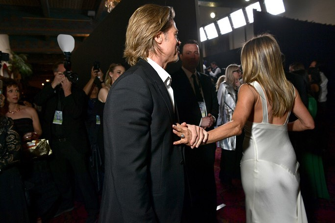 Brad Pitt dan Jennifer Aniston Mesra Kembali?