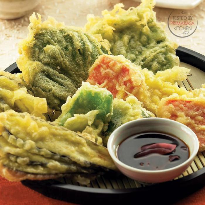 Resep Tempura Sayuran