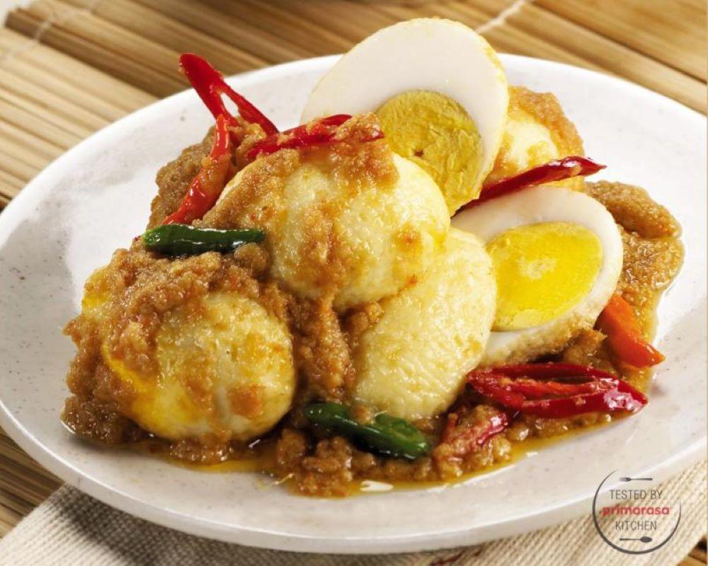 Resep: Telur Bumbu Rawit