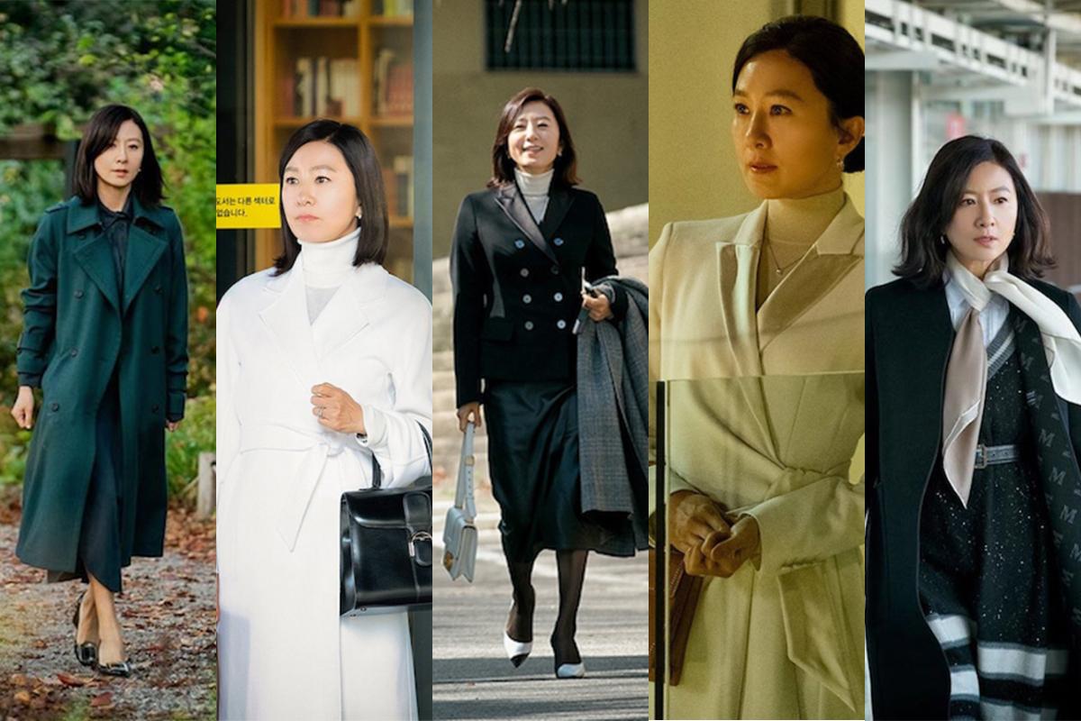 Fashion Mewah Ji Sun Woo di Serial The World of The Married