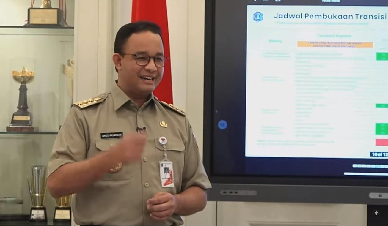 PSBB Diperpanjang,  DKI Terapkan Transisi Menuju 'Aman-Sehat-Produktif'