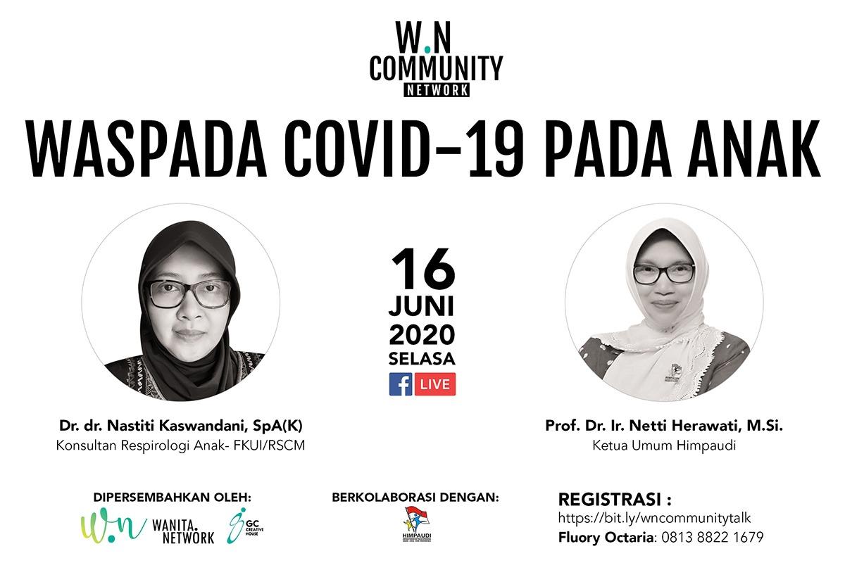Webinar: Waspada COVID-19 pada Anak-Anak