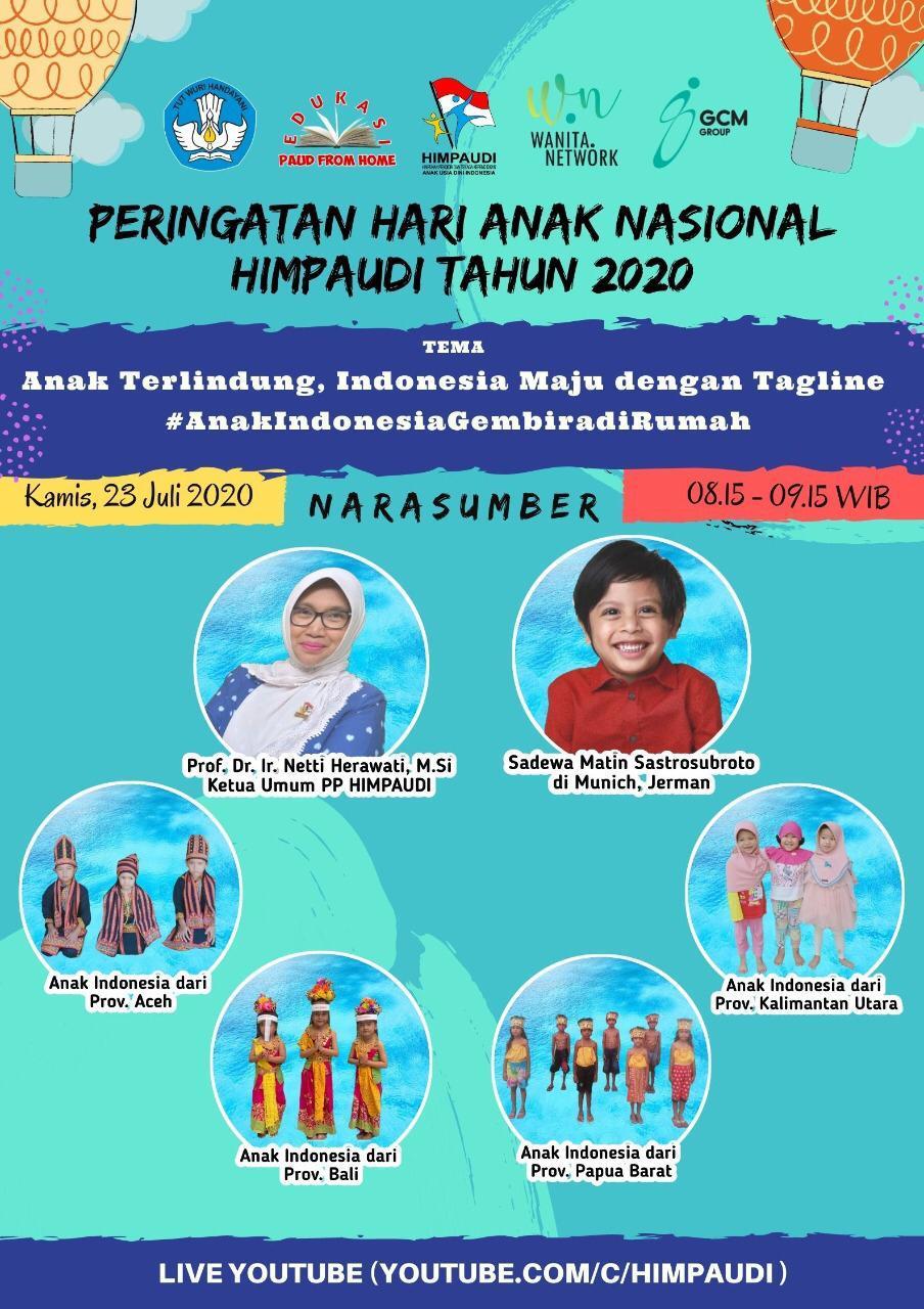 Peringatan Hari Anak Nasional Di Tengah Adaptasi Kebiasaan Baru