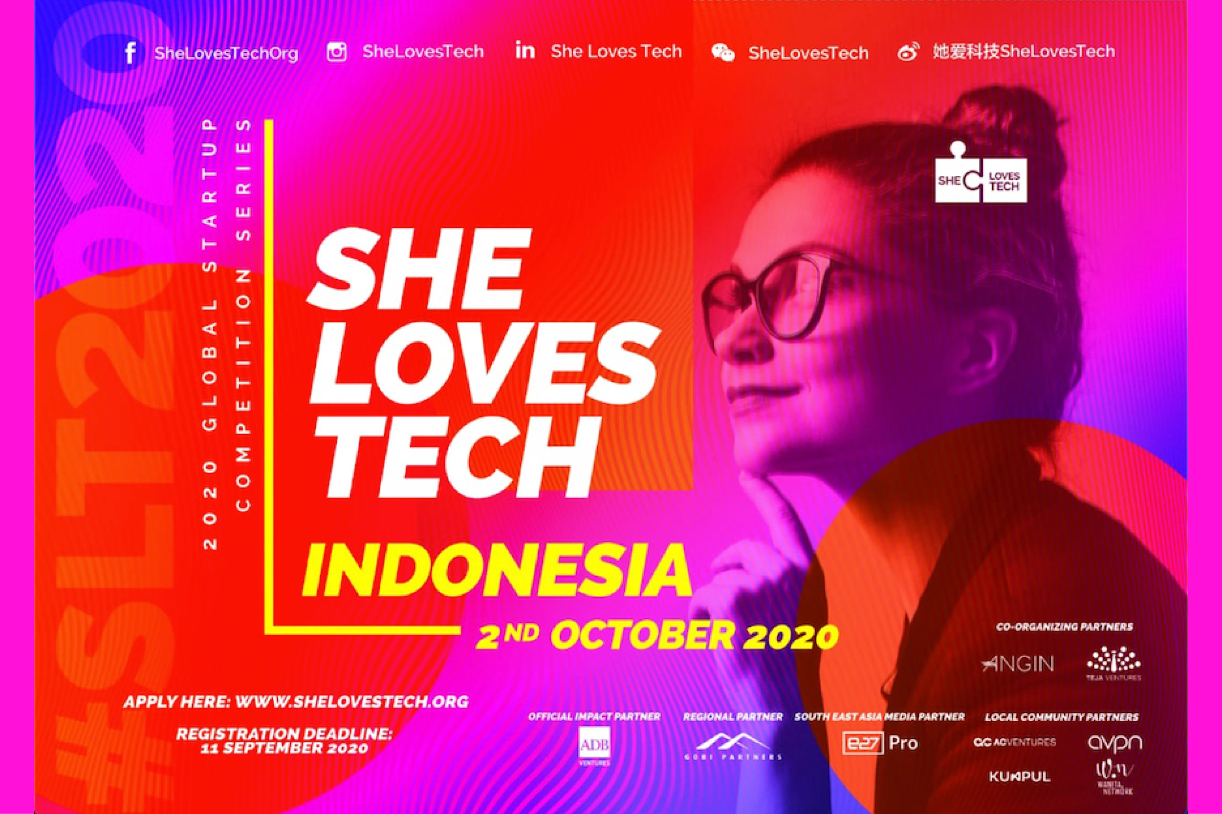 Bawa Bisnis Start-up Anda Mendunia Lewat Kompetisi She Loves Tech