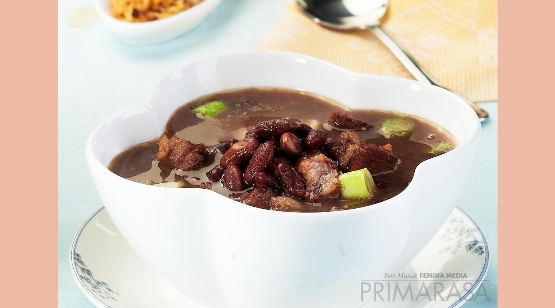 Resep Primarasa: Sup Brenebon Kacang Merah