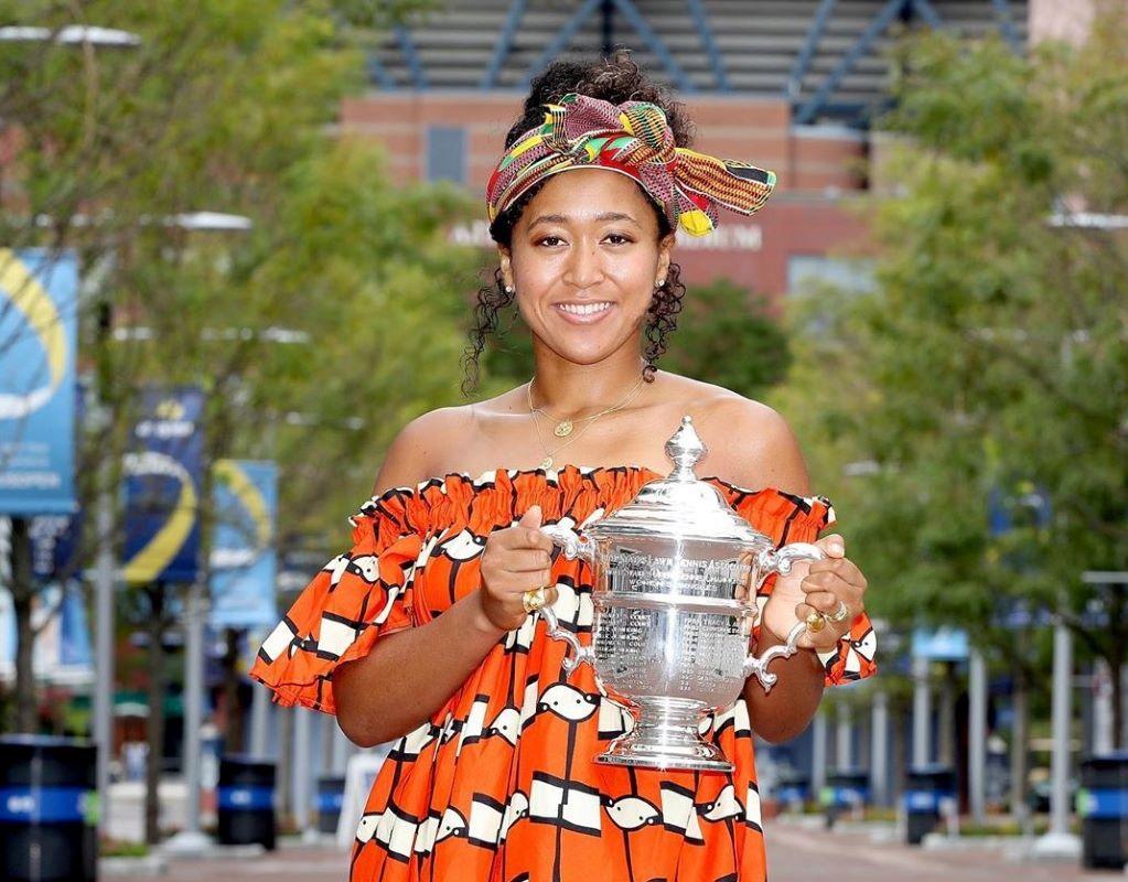 Pesan Anti Rasial Petenis Naomi Osaka Saat Juarai Amerika Terbuka
