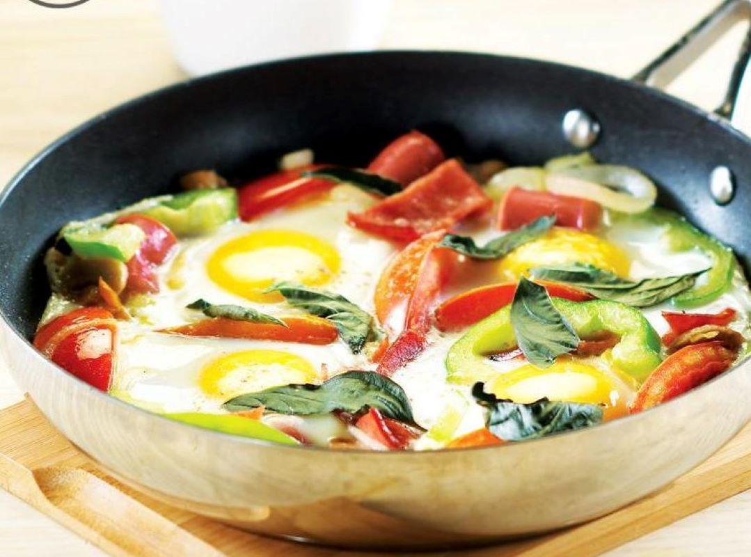 Resep Primarasa: Ceplok Telur Dengan Sosis