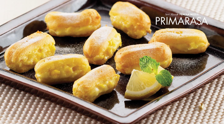 Resep Primarasa: Kue Sus Isi Krim Jagung