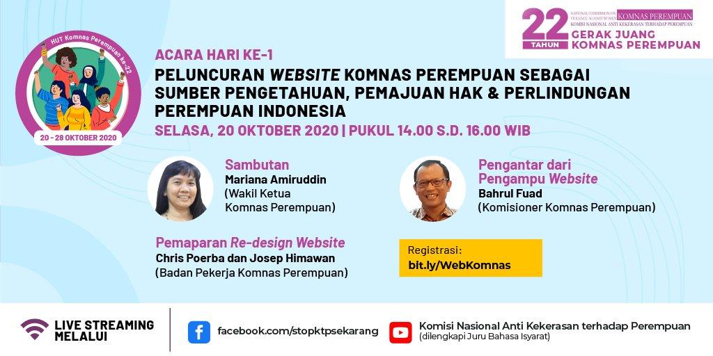 Launching Website Komnas Perempuan, Rumah Informasi Untuk Perlindungan Perempuan Indonesia