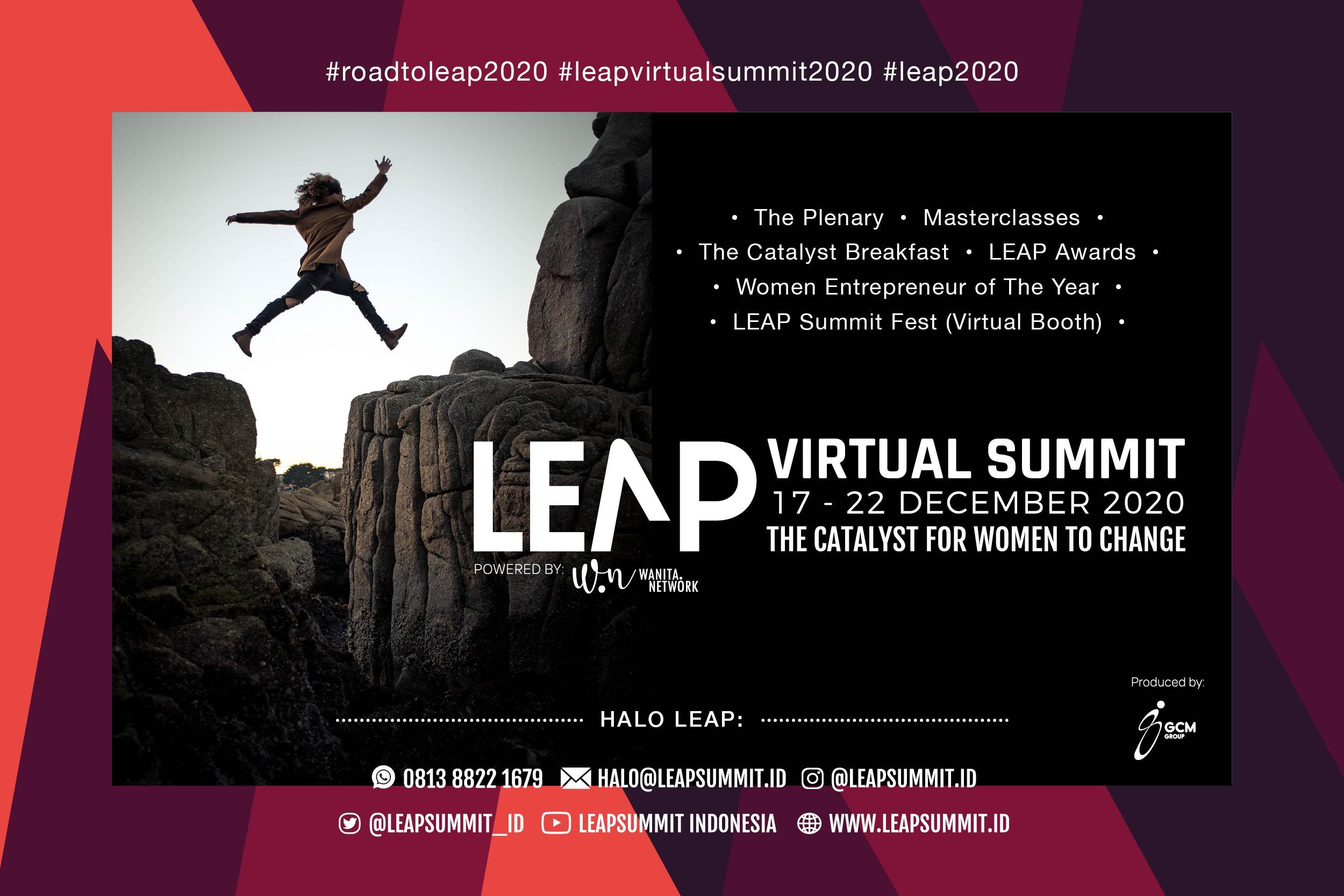Coming Soon! LEAP VIRTUAL SUMMIT 2020