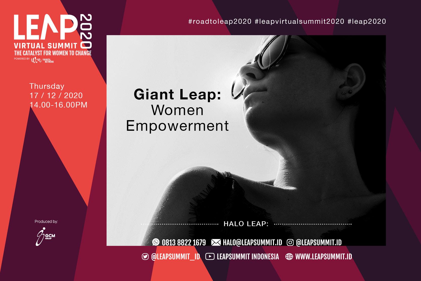 The Plenary: Giant Leap, Women Empowerment