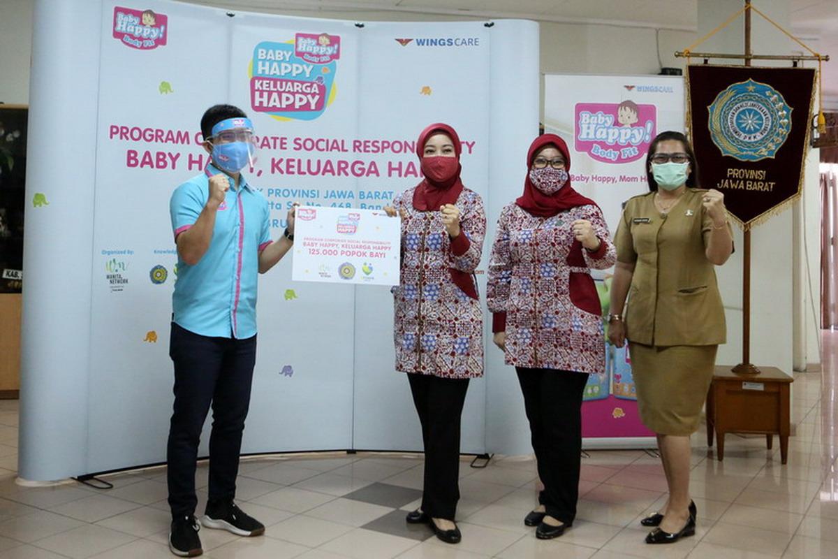 Popok Baby Happy Berbagi Kebahagiaan dengan Keluarga Indonesia